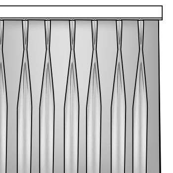 finitions tentures voiles et rideaux Louvers