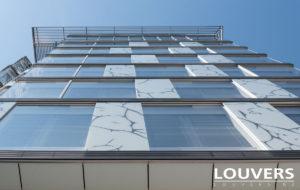horizontale jaloezieën Louvers
