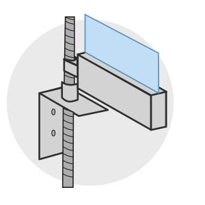 Screens classiques Louvers - Guidage par câble