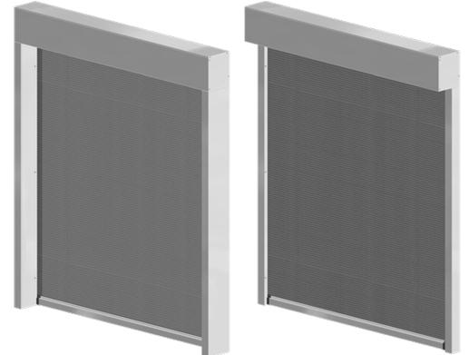 Screens zip encastrables