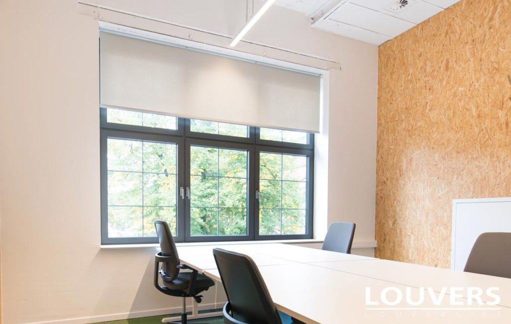 gordijnen akoestische gordijnenrolgordijnen productie plaatsing van meer dan 100 zonneweringen in de verschillende ruimtes van de business center