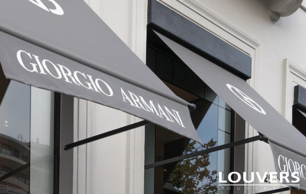 Stores extérieurs - Bannettes commerciales Louvers