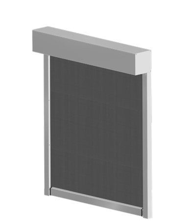 Screens zip Louvers
