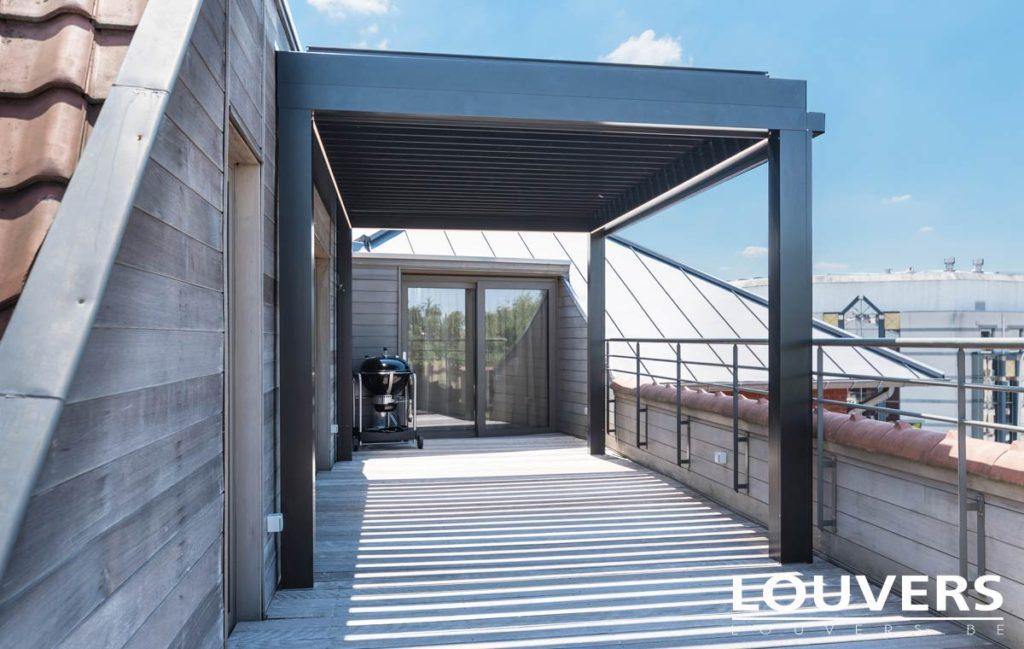 veranda bioclimatique pergola