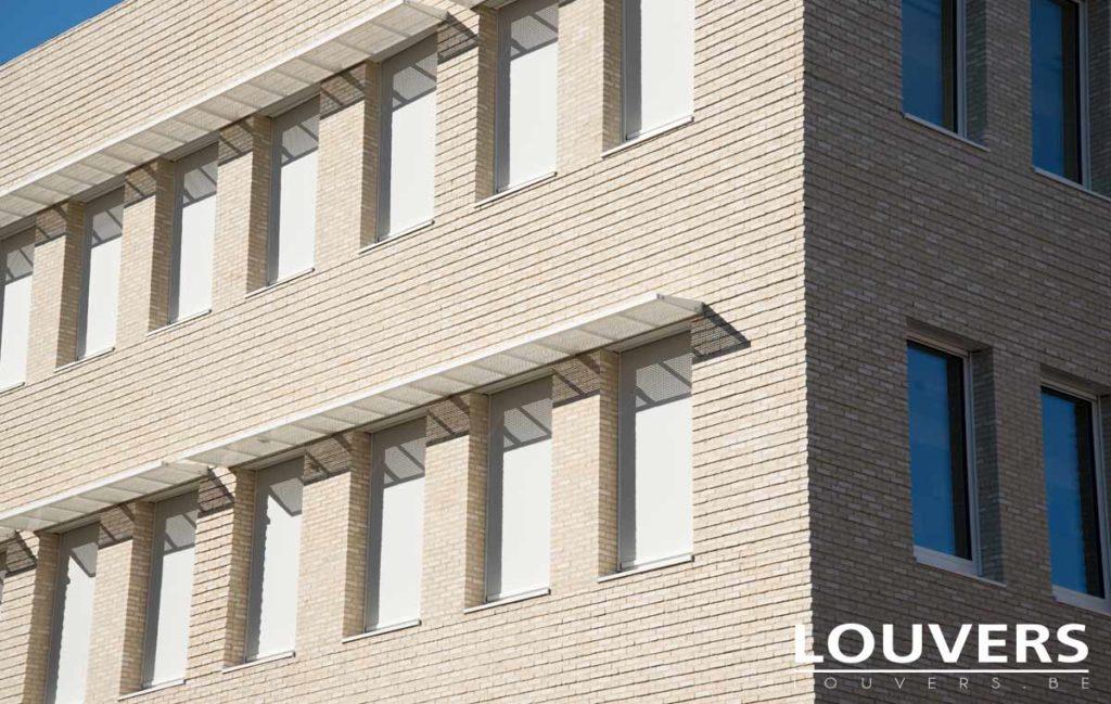 Geintegreerde zip screen Louvers
