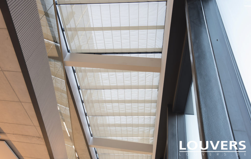 protection solaire louvers centre administratif hasselt