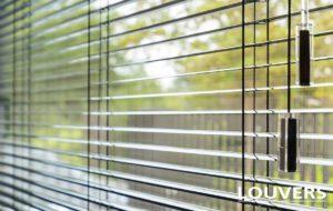 horizontale lamellen aluminium - Louvers Brussel